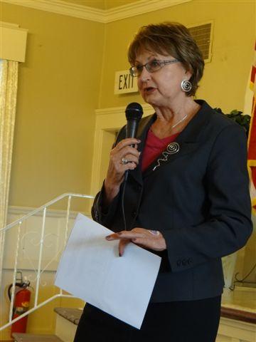 Susan Peinado our new Club President for 2013