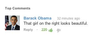 Obama comment