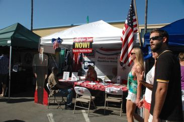 Republican booth