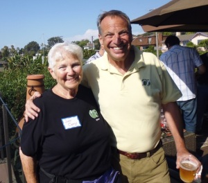 Judi Curry & Bob Filner (photo: Judi Curry)