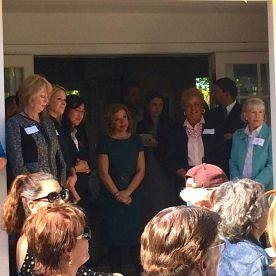 Sarah Boot, Carol Kim, Debbie Wasserman Schultz, Francine Busby, Leanne Hull MacDougall (host)