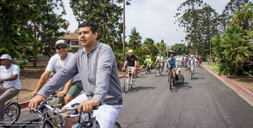 Support David Alvarez for  a Mayor who cycles to work!
