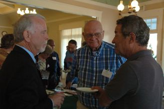 Dr Michael McQuare, Philip Manson, Roger Quesada