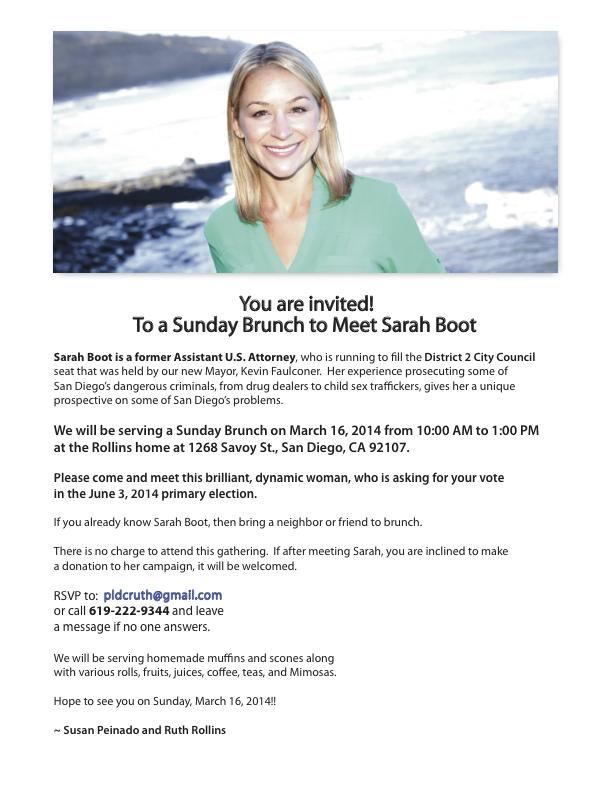 SarahBootMeet&Greet