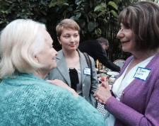 Ruth Rollins, Katie Meyer, Susan Davis
