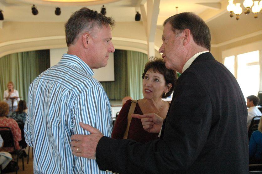 Scott Peters, Irma Gonzalez, Bob Brewer