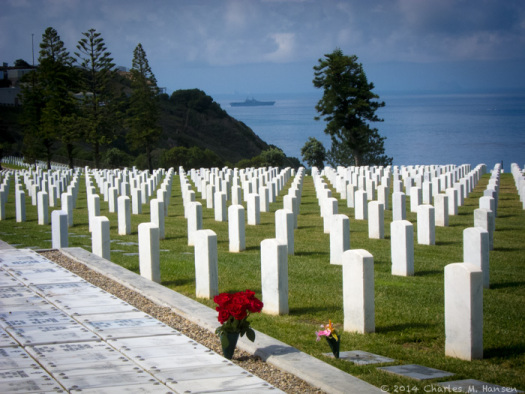Fort Rosecrans Cemetery, photograph by Charles Hansen