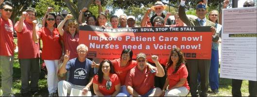 VA San DIego Nurses Vote to Organize!