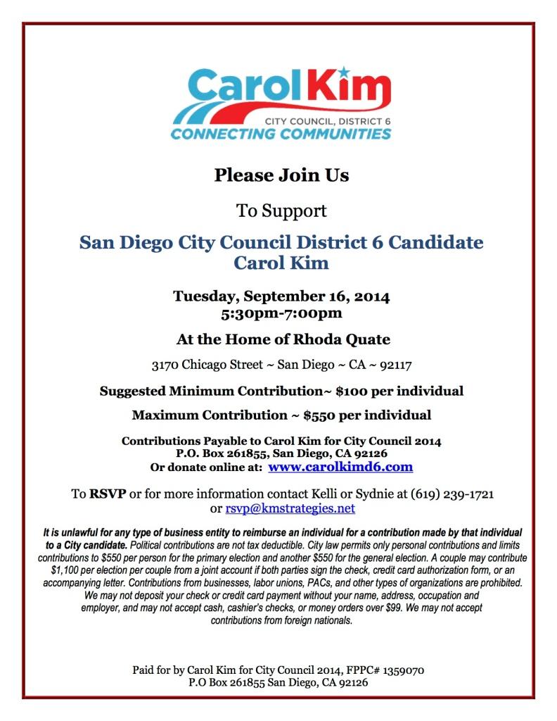 Carol_Kim Fundraiser 9-16-2014