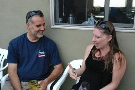 Steve Rivera and Cynara Velazquez