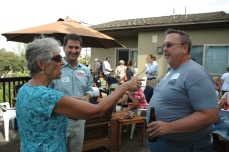 Nancy Witt, Chris Ward & David Warmoth