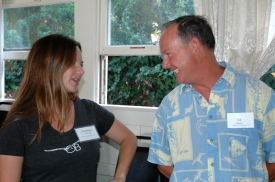 Gretchen and Ed Harris