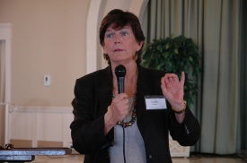 Linda Perine, President Democratic Woman's Club of San Diego County