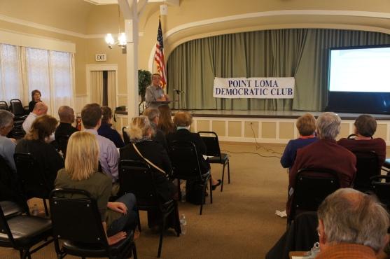 Joe LaCava addressing the club