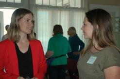 Kath Rogers and Gretchen Newsom