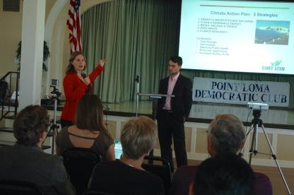 Kath Rogers and Brian Eilliott