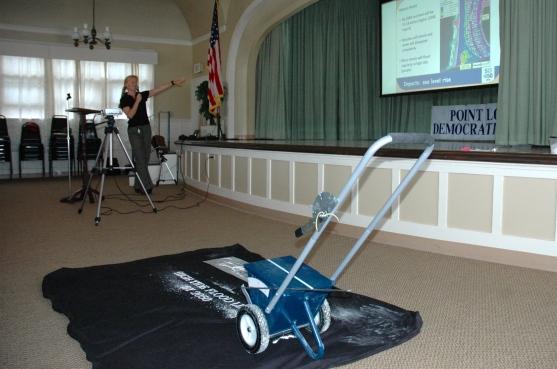 San Diego 350 High Water Line equipment