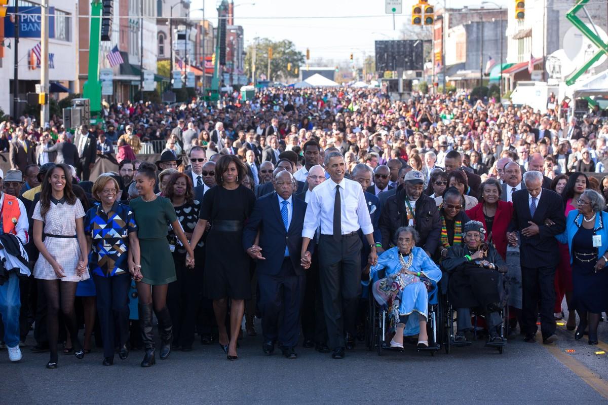 President Obama Selma 2015