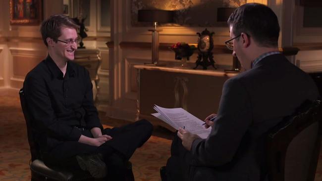 Edward Snowden, John Oliver