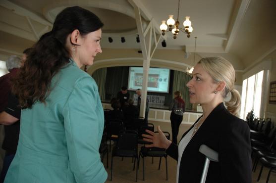 Gayle Sollfrank & Sarah Boot