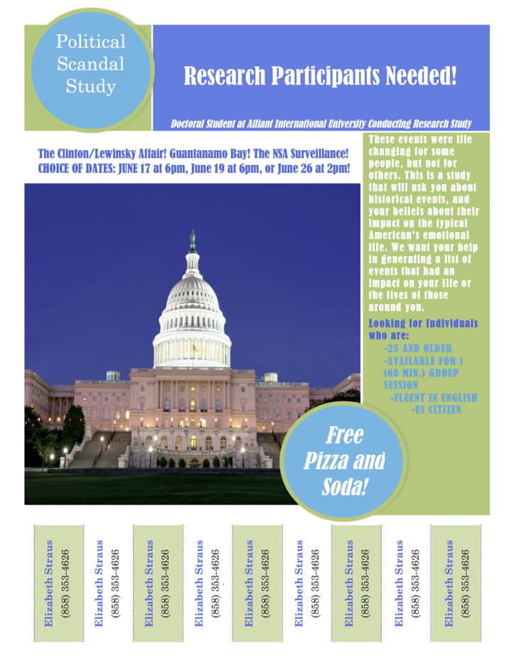 Political Scandal Pilot Study June 11, 2015