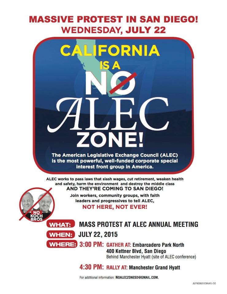 No ALEC zone. JULY 22
