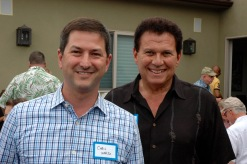 Chris Ward, candidate for District 3 and Senator Marty Block