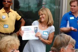 Rhoda Quate inviting members to attend fundraiser for José Caballero, candidate for District 7