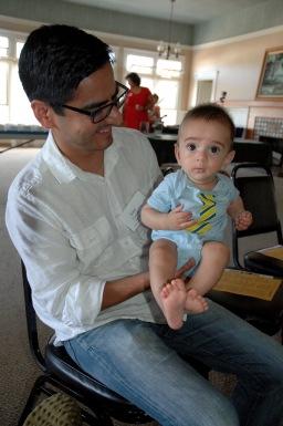 José Castillo and son
