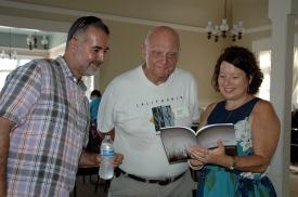 Steve Rivera, Philip Manson, Rabbi Laurie Coskey