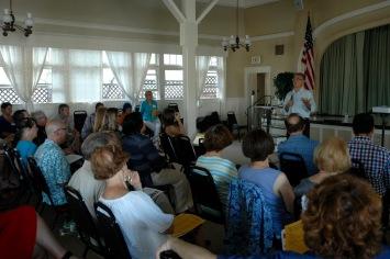 Joe LaCava addressing members