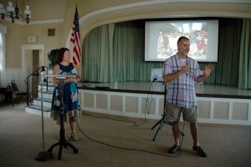 Rabbi Laurie Coskey, Steve Rivera