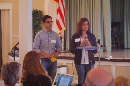 José Castillo and Deval Zaveri-Tabb, Endorsement Committee members