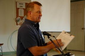 Michael Kreizenbeck, speaking for Lori Saldaña