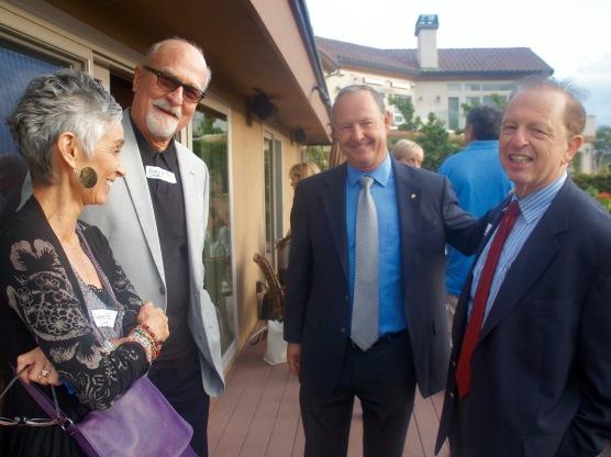 Andrea, Gary, Ed and Howard