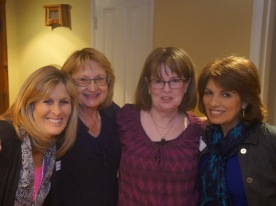 Rhoda, Susan, Deborah and Wedad