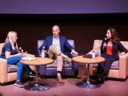 Wendy Fry, Robert Hickey and Mara Elliott