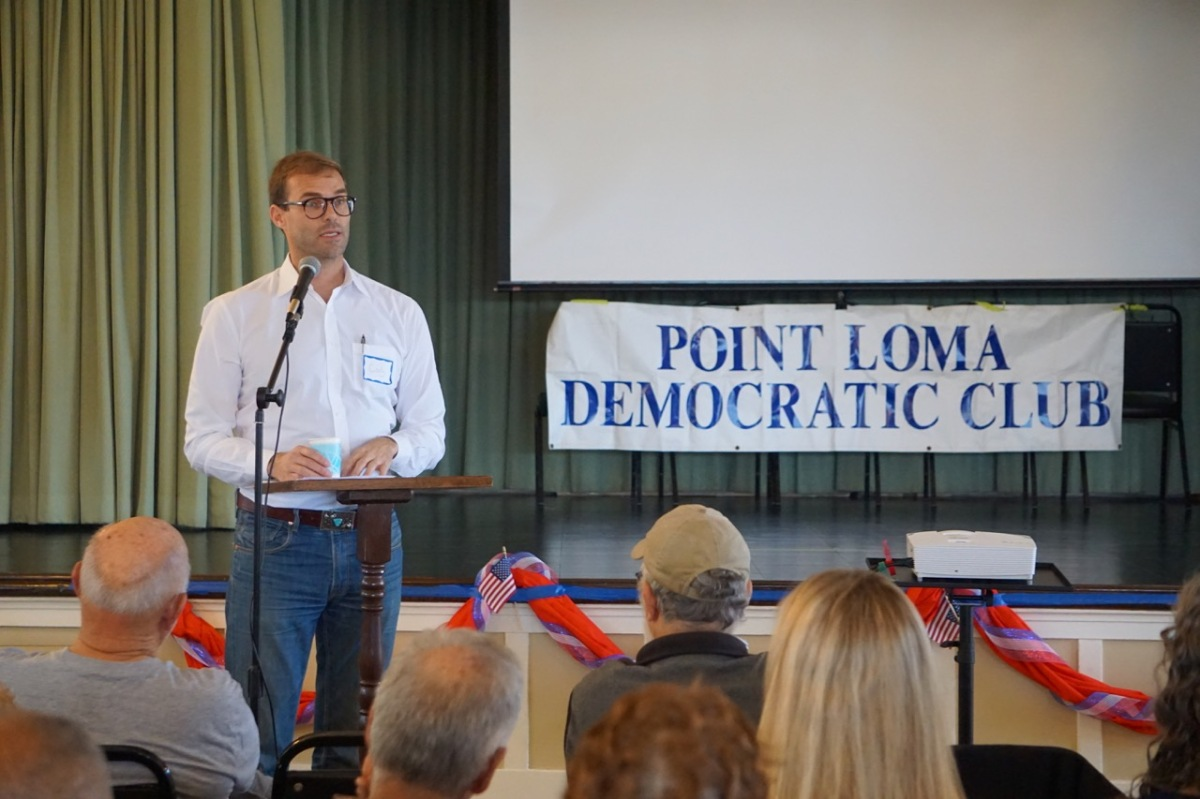 Point Loma & OB Dems - cover