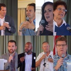 Speakers at April Meeting