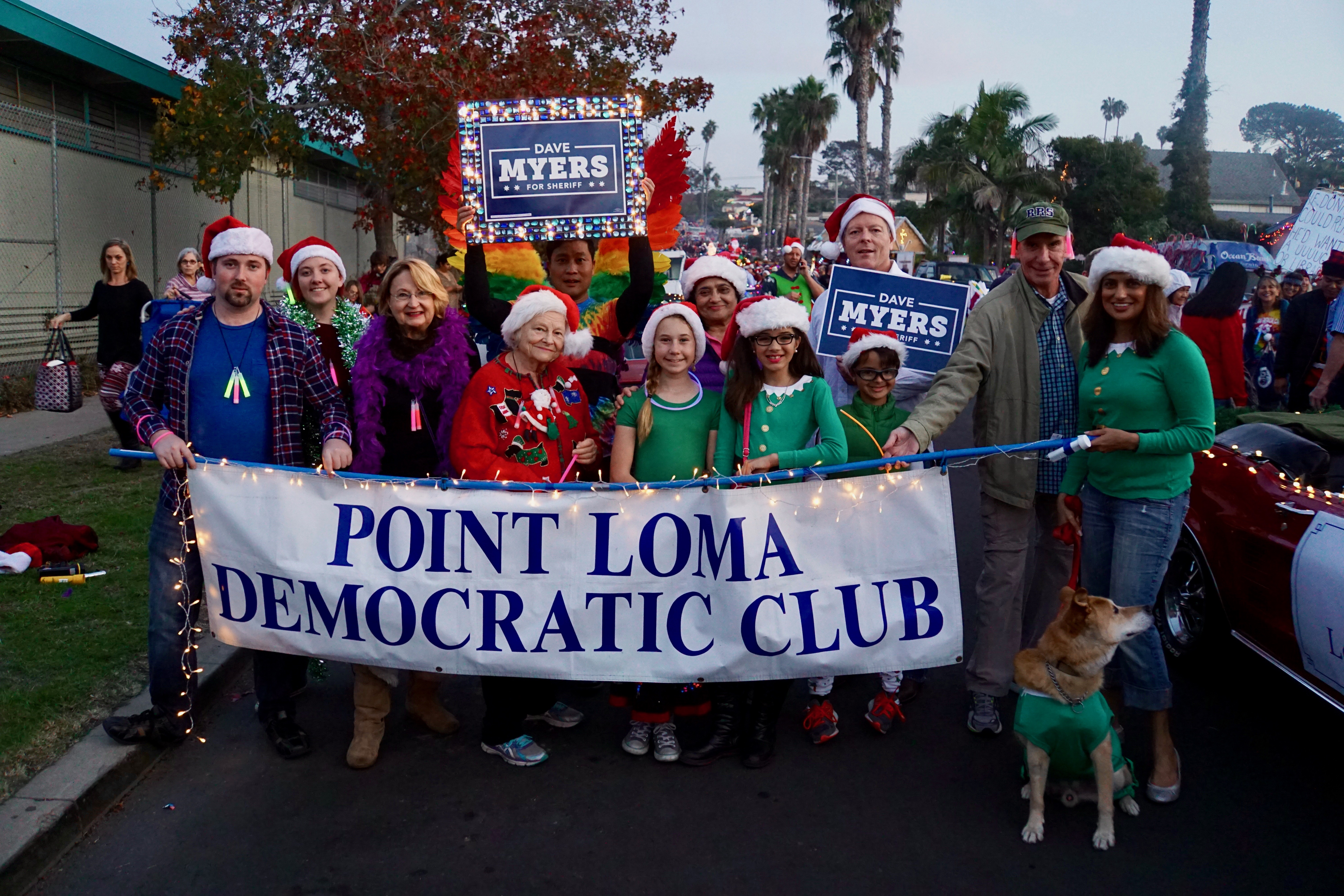 Thanks toDavid Myers and everyone who came out to walk in the best parade in San Diego!