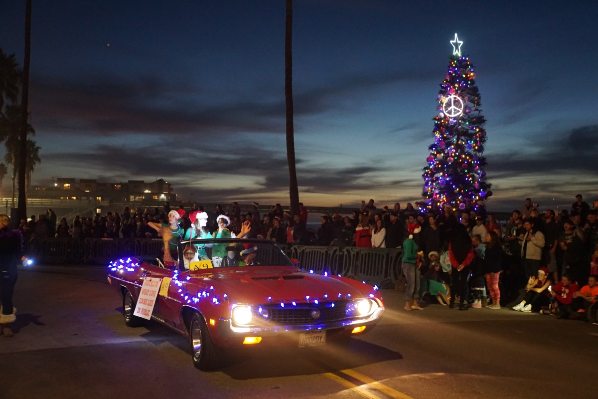 """Dec 1 – Come Join Us at the OB Holiday Parade """"It\'s a Wonderful Life ..."""